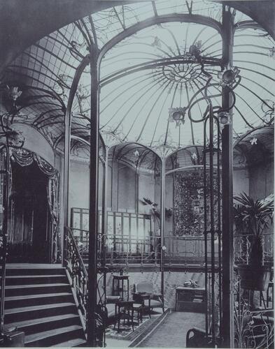 Brussel uitbreiding oost huis van eetvelde en opbrengsthuis palmerstonlaan 2 4 horta victor - Uitbreiding huis glas ...