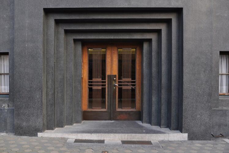Schaarbeek les pavillons fran ais notelaarstraat 282 282b peeters marcel - Smeedijzeren pergola voor terras ...
