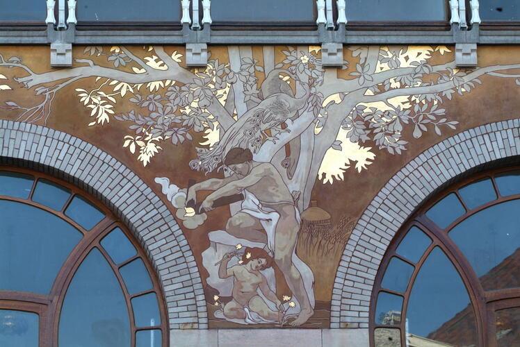 Aesthetics arts and crafts and art nouveau vis art for Art nouveau interieur