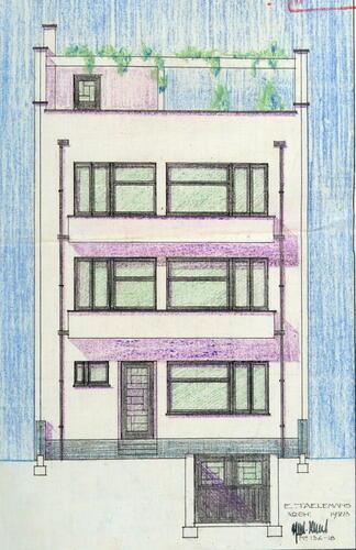 Brussel uitbreiding zuid woning henoul franklin rooseveltlaan 76 taelemans douard - Moderne verdieping ...