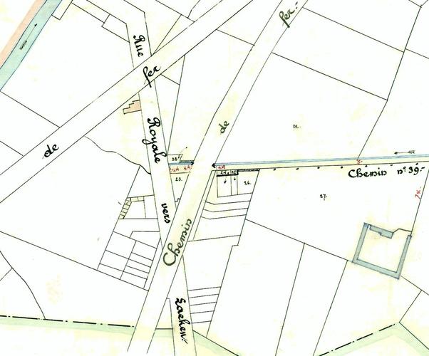 Schaerbeek Rue du Pavillon
