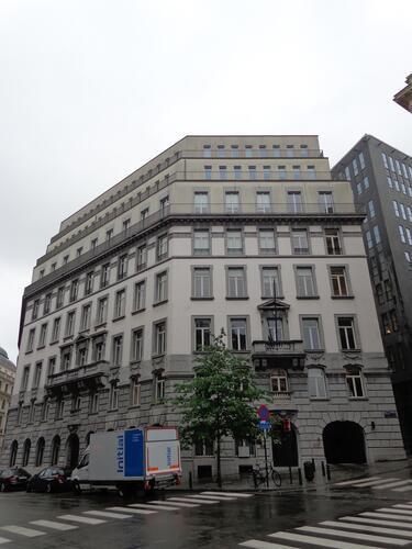 Rue de la Chancellerie 17-17A, 2015