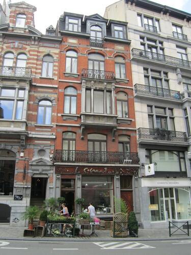 Rue Lebeau 63-65, 2015