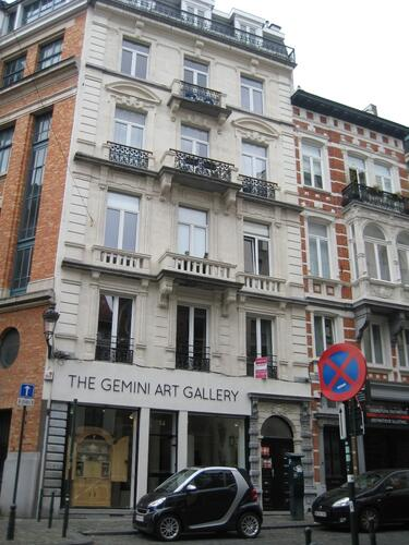 Rue des Minimes 14-16, 2015