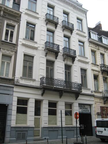 Rue des Minimes 26-28, 2015