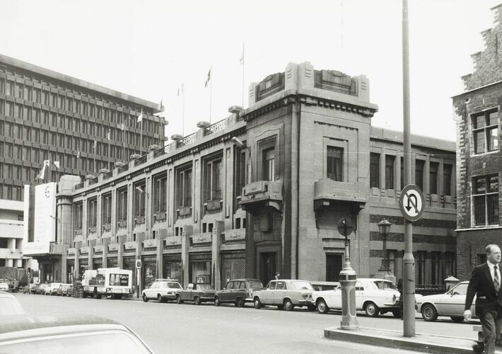 rue Ravenstein 5-23, Palais des Beaux-Arts, 1980