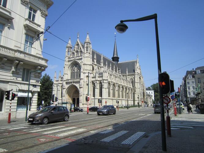 Rue de la Régence, Eglise Notre-Dame du Sablon, 2015