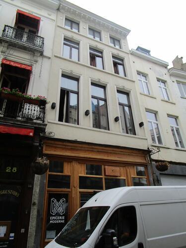 Rue des Chapeliers 30, 2015