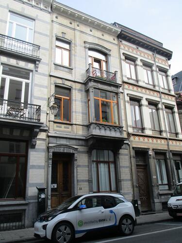 Rue Duquesnoy 33, 2015