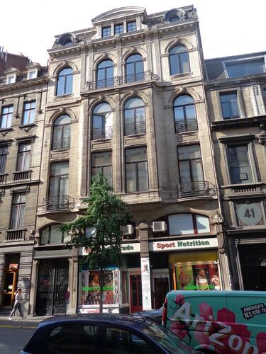 Rue du Lombard 43-45-47, 2015