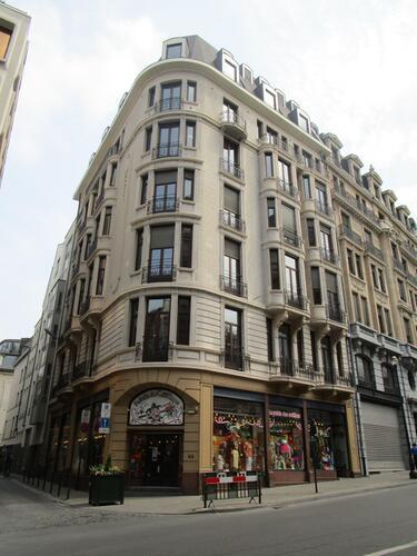 Rue du Lombard 66-68, 2015