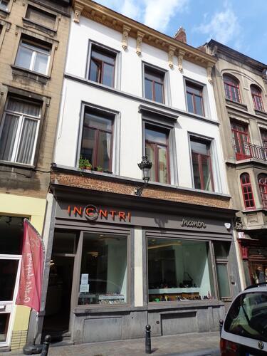 Rue du Marché au Charbon 61-63, 2015