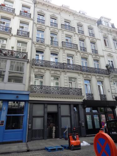 Rue du Marché au Charbon 114-116, 2015