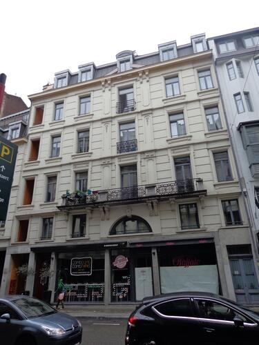 Rue Antoine Dansaert 15-21-27, 2015