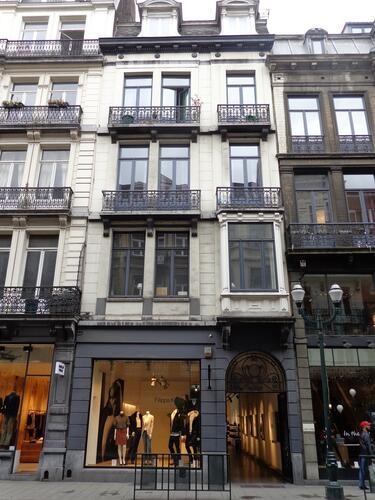 Rue Antoine Dansaert 40-42, 2015