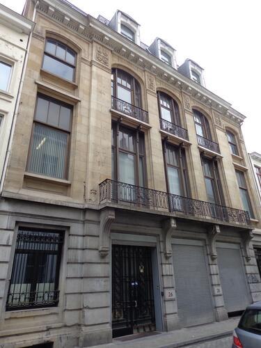 Rue du Boulet 26-28, 2015