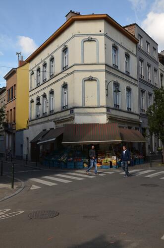 Angle rue d'Artesie 35-37 - Rue des Foulons 28A, 2015