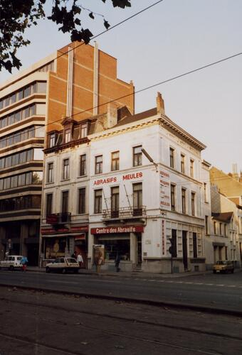 Boulevard du Midi 35, 35A, angle rue d'Artois 69-73, 1987