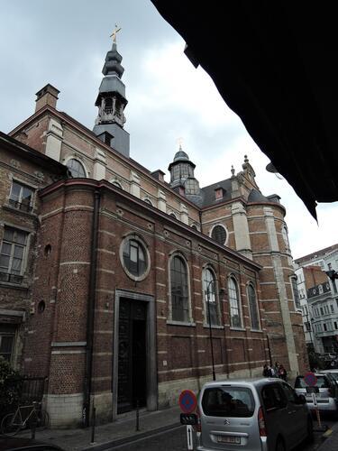 Rue des Riches Claires 23, ancienne église des Riches Claires , 2015