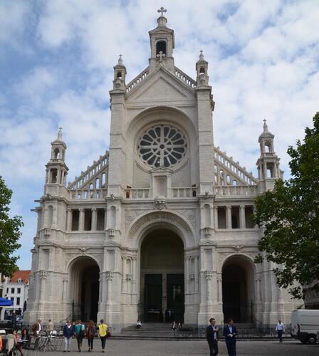 Place Sainte-Catherine, église paroissiale Sainte-Catherine, 2015