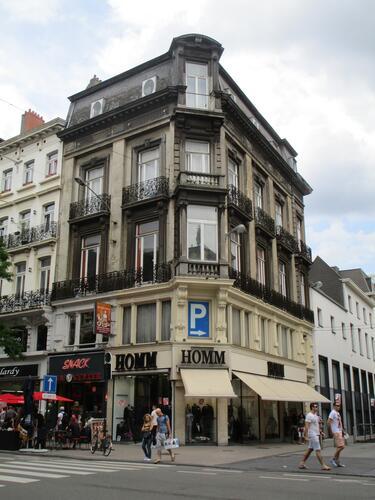 Boulevard Adolphe Max 59, 61, Rue du Pont Neuf 60, 2015