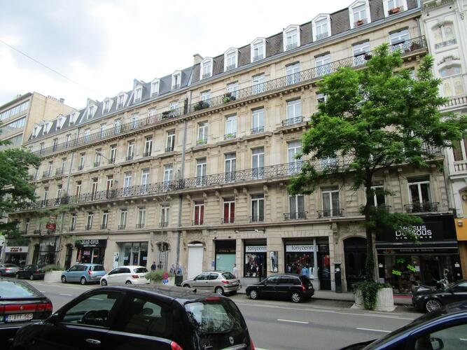 Boulevard Adolphe Max 79-81-83-85-87-89, 91-93, 95-97, 99-101-103, 2015
