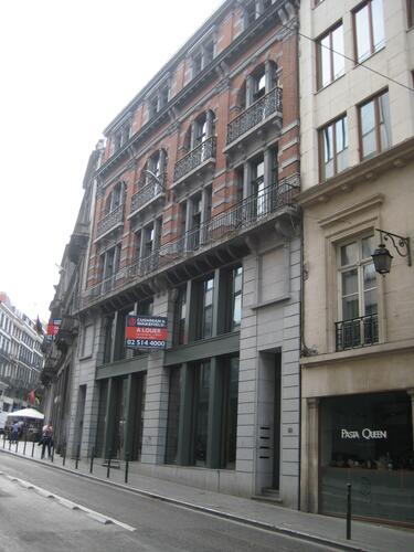 Rue de l'Ecuyer 61-65, 2015
