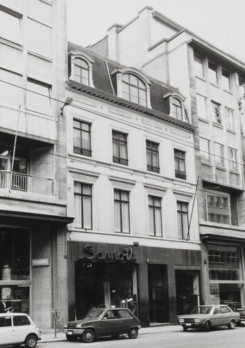 rue Royale 114-116, 1981