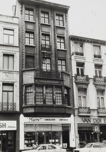 rue Royale 180-182 (act. 178), 1981