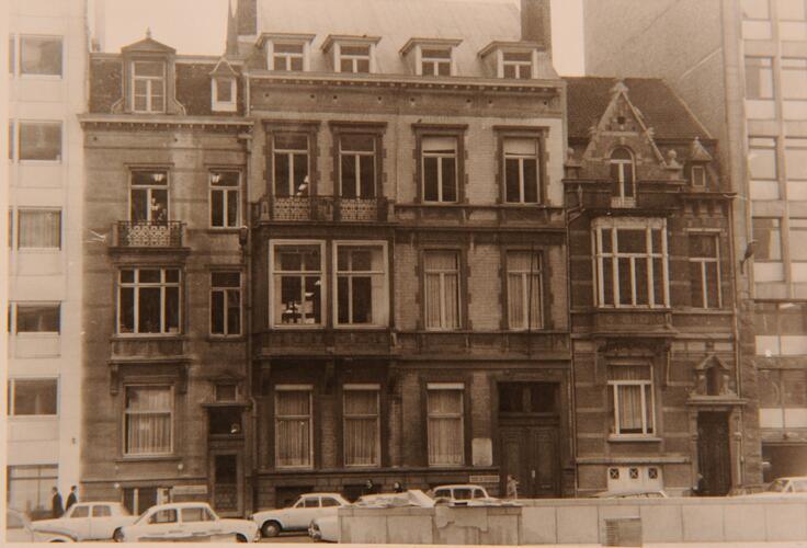 Rue Archimède 13 à 9, avant transformations, AVB/TP 84512 (1971)
