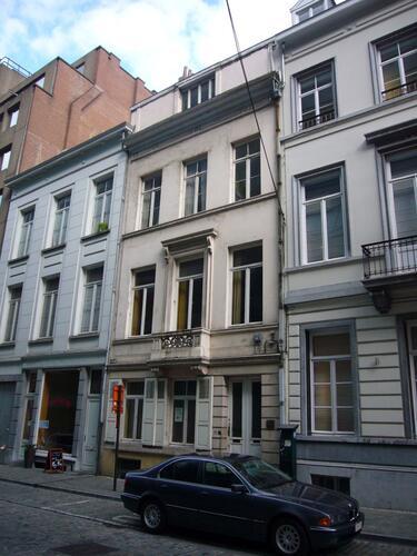 Rue du Commerce 51, atelier Marcel Hastir, 2009