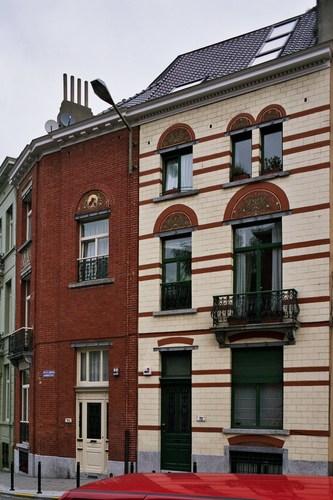 Rue des Éburons 70, 72, 2007
