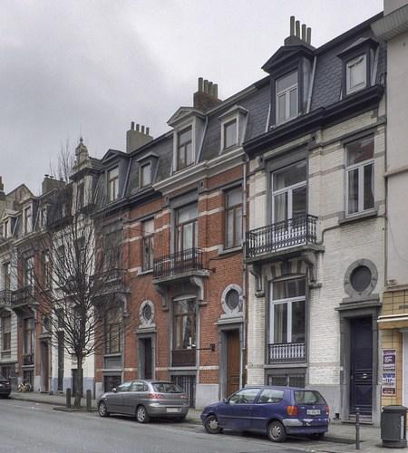 Rue Franklin 85 à 77, © V. Brunetta & M. Eberlin, 2009