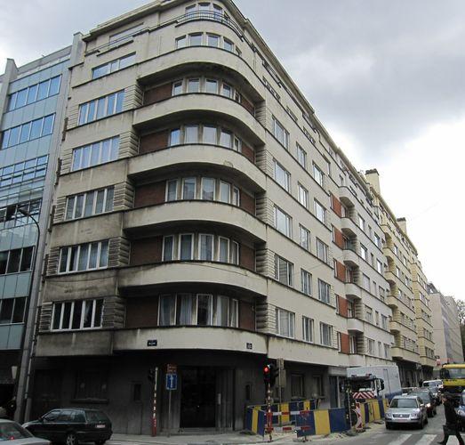 Rue de l'industrie 15-19, rue Belliard 23a-23b, 2009