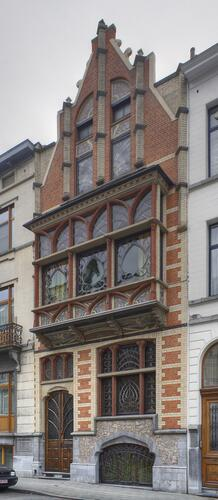 Ancienne maison personnelle de l'architecte Édouard Ramaekers