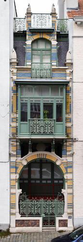 Ancienne maison personnelle de l'architecte Gustave Strauven