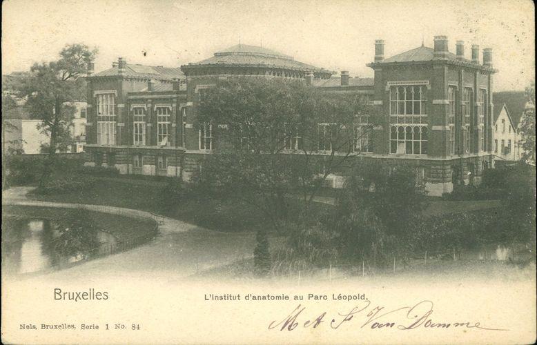 Avenue du Maelbeek 3-13, ancien Institut d'Anatomie et d'Histologie, (Collection Dexia Banque ARB-RBC)