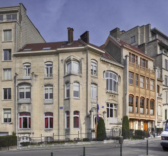 Hôtel van Eetvelde et maison de rapport
