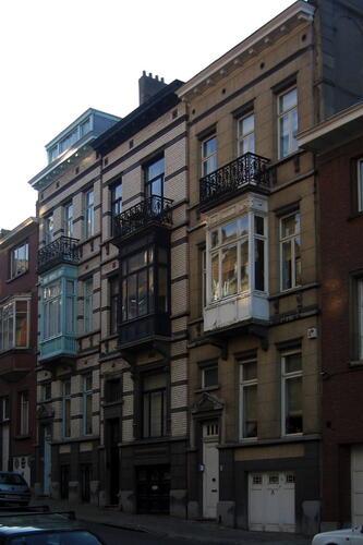 Rue de l'Aurore 7, 5 et 3, 2005