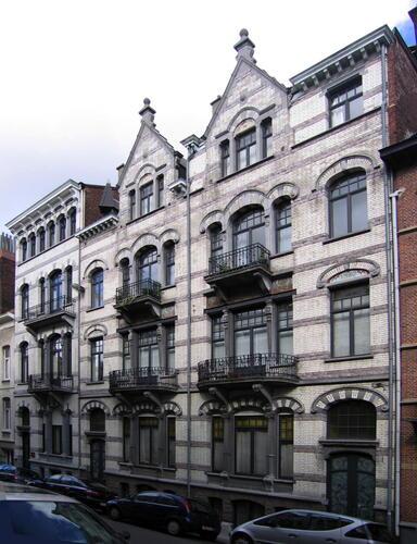 Rue Jacques Jordaens 26, 28, 30