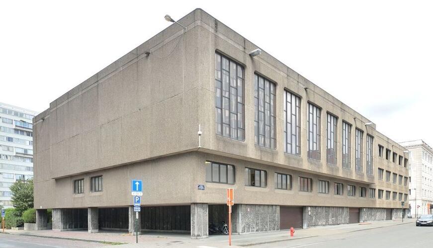 Politieschool; Glibertstraat 1, 2020