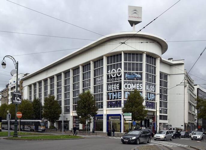 Ancien siège de la Société belge des automobiles Citroën