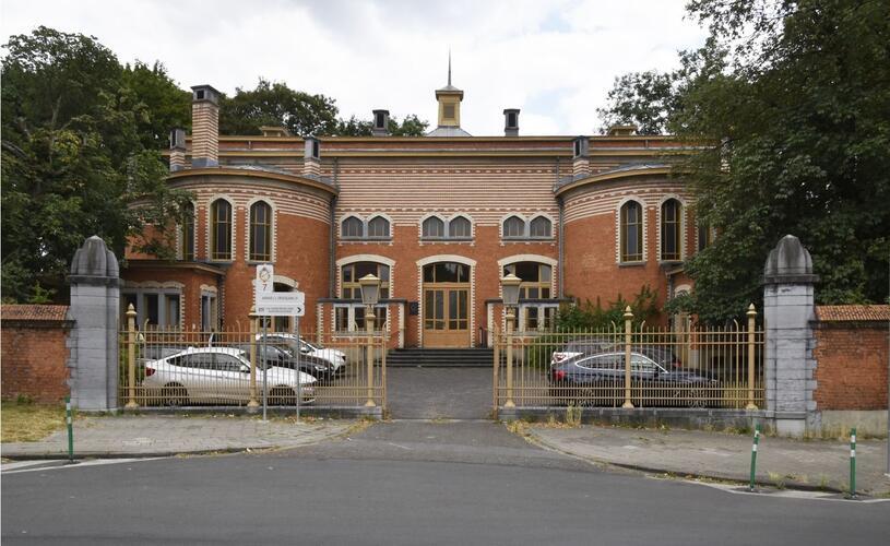 Place Arthur Van Gehuchten 4, hôpital Brugmann, mortuaire et chapelle, (© ARCHistory / APEB, 2018)