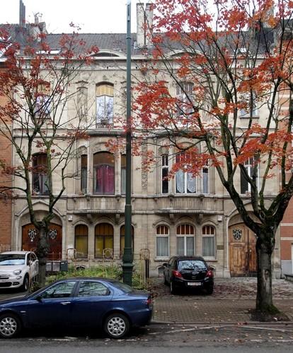 Anciennes maisons et ateliers des sculpteurs Désiré Jacobs et Mathieu Desmaré