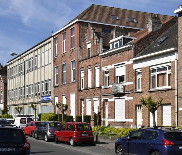 Félix Sterckxstraat 40 tot 44, Stella Marisinstituut, en 46, 48, de voormalige uitbreidingen, ARCHistory / APEB, 2018