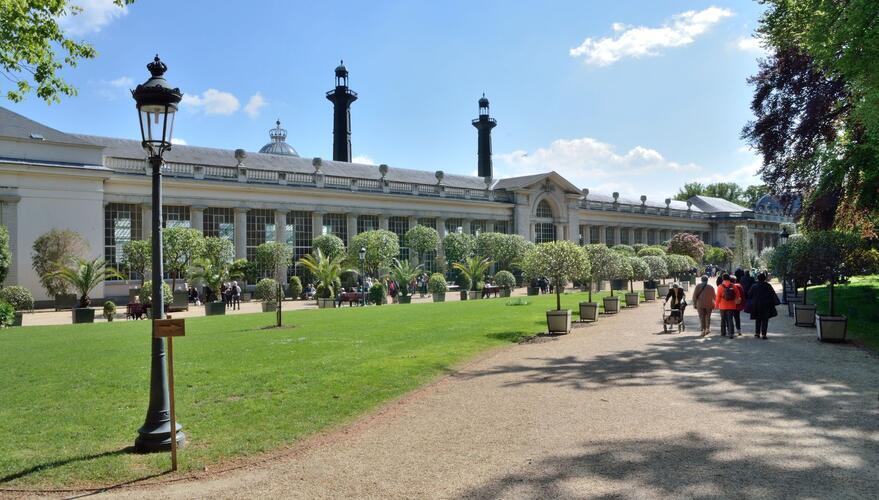 Serres royales de Laeken, l'orangerie, 2020