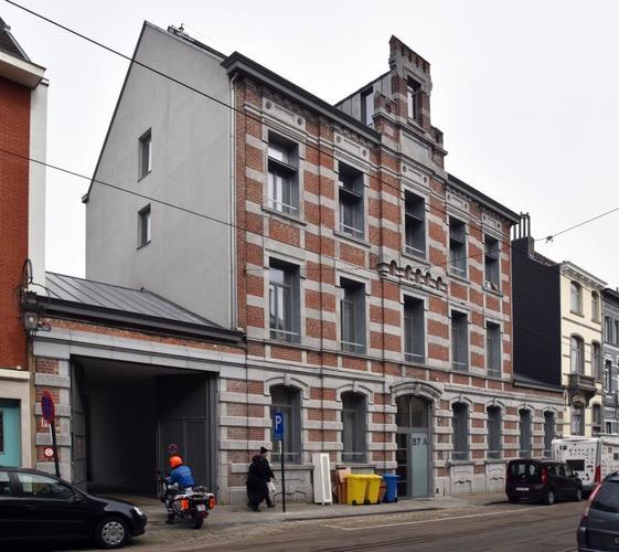 Rue Stéphanie 87-87a, 2017