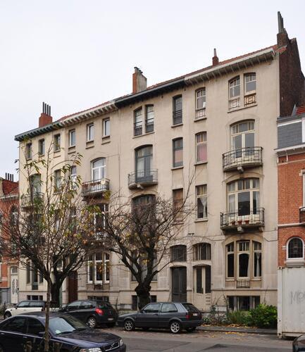 Avenue Émile Max 22 à 28, 2010