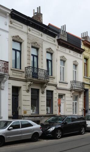Rue Goossens 35 et 37, 2014