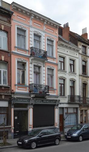 Rue Rubens 11 et 9, 2014